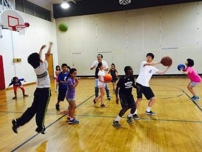 篮球场运动 2